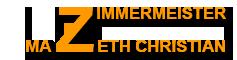 Zimmermeister Mazeth Christian Logo